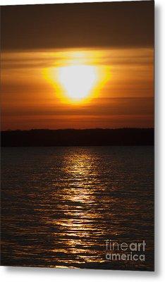 Metal Print featuring the photograph Sunrise On Seneca Lake by William Norton