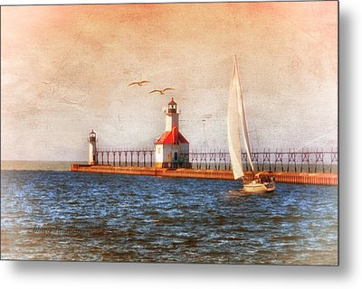Metal Print featuring the photograph Sunset Aglow by Mary Timman