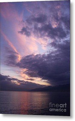 Sunset At Messina Metal Print