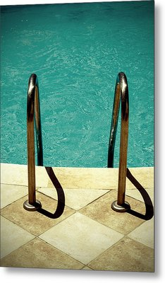 Swimming Pool Metal Print by Joana Kruse