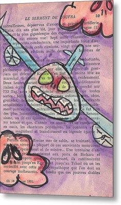 Tag Metal Print by Jera Sky