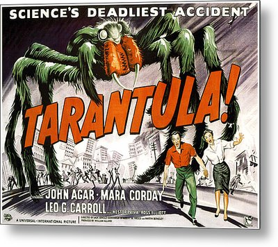 Tarantula, Bottom From Left John Agar Metal Print by Everett