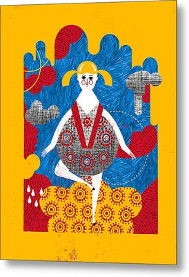 That Dress Looks Nice On You Metal Print by Luciano Lozano