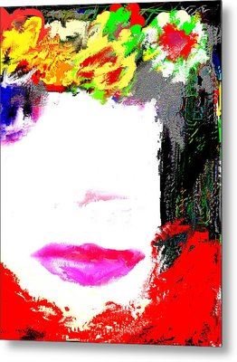 Metal Print featuring the digital art That Girl by Rc Rcd