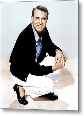 That Touch Of Mink, Cary Grant, 1962 Metal Print by Everett