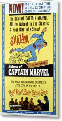 The Adventures Of Captain Marvel, Tom Metal Print by Everett