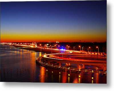 Metal Print featuring the photograph The Beauty Of The Night by Brian Wright