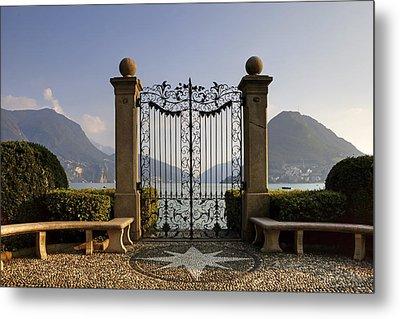 The Gateway To Lago Di Lugano Metal Print by Joana Kruse