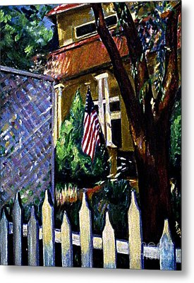The Grant House Metal Print by Karen Francis
