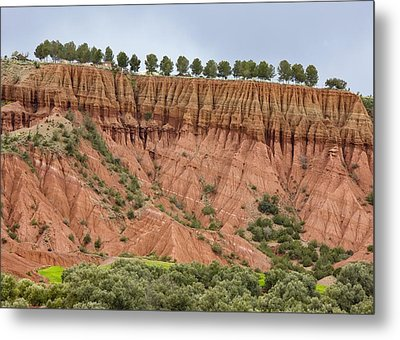 The Imlil Valley, Morocco Metal Print by Bob Gibbons