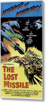 The Lost Missle, 1958 Metal Print by Everett