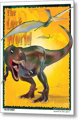 The Lost World Metal Print by Kenneth De Tore