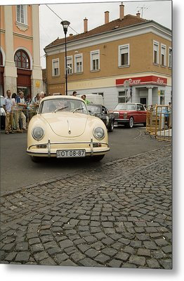 The Old Porshe Metal Print by Odon Czintos