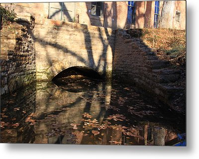 The Shadow Of Time Metal Print by Cynthia Cox Cottam
