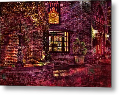 The Village Of Light Metal Print by Marc Parker