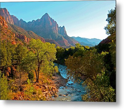 The Watchman II Metal Print