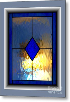 The Window Metal Print by Dale   Ford