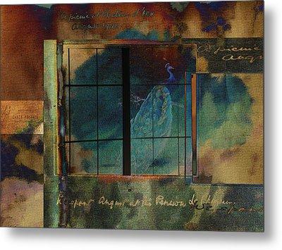 Through A Glass Darkly Metal Print by Sarah Vernon