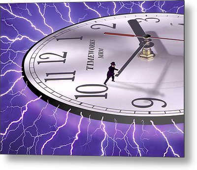 Time Stops For No One Metal Print by Mike McGlothlen