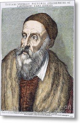 Titian (c1490-1576) Metal Print by Granger
