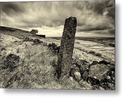 Top Withens Metal Print by Mark Haley