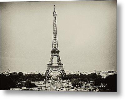 Tour Eiffel - Eiffel Tower Metal Print by Ruy Barbosa Pinto