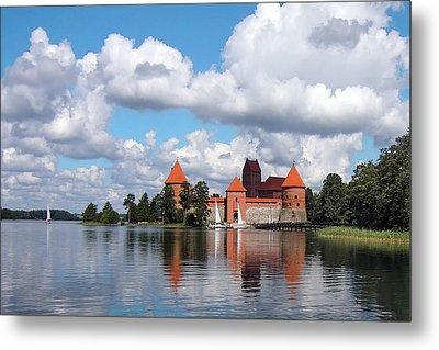 Trakai Castle Metal Print by Aleksandr Volkov