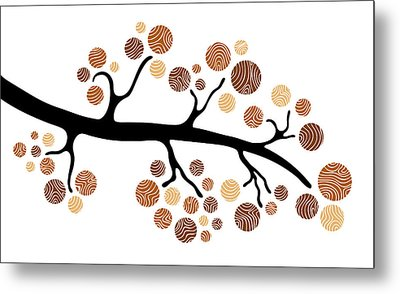 Tree Branch Metal Print by Frank Tschakert