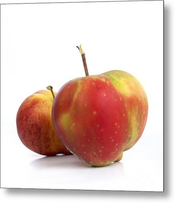 Two Apples. Metal Print by Bernard Jaubert