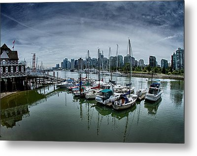 Vancouver Canada Metal Print by Scott Holmes