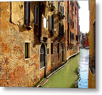 Metal Print featuring the photograph Venice by Barbara Walsh