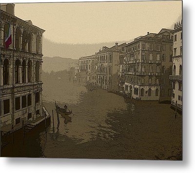 Metal Print featuring the photograph Venice by David Gleeson