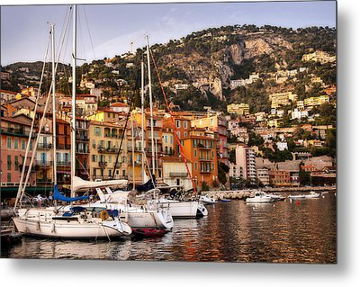 Metal Print featuring the photograph Villefranche-sur-mer  by Steven Sparks