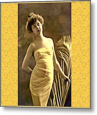 Metal Print featuring the photograph Vintage Enchantment by Mary Morawska