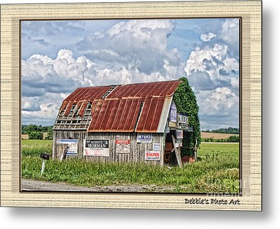 Metal Print featuring the photograph Vote For Me I by Debbie Portwood