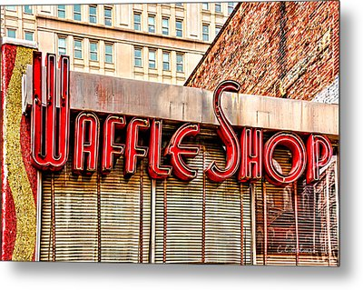 Waffle Shop Metal Print by Christopher Holmes
