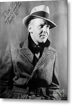 Walter Winchell (1897-1972) Metal Print by Granger