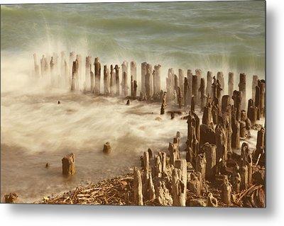 Waves Metal Print by Joana Kruse