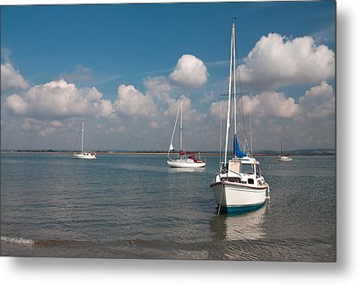 Metal Print featuring the photograph West Wittering by Shirley Mitchell