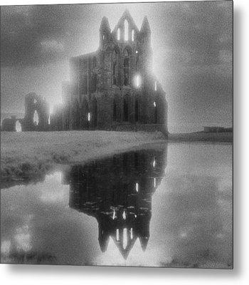 Whitby Abbey Metal Print by Simon Marsden