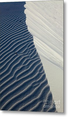 White Sands Metal Print by Keith Kapple