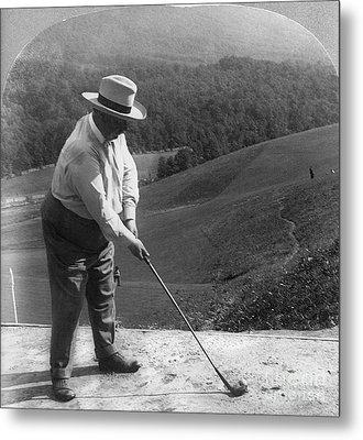 William Howard Taft Metal Print by Granger