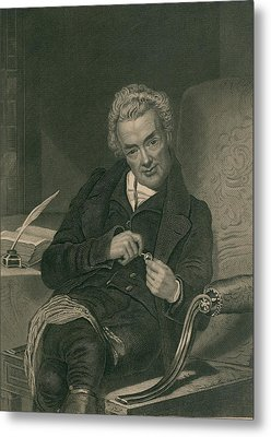 William Wilberforce 1859-1833 British Metal Print by Everett