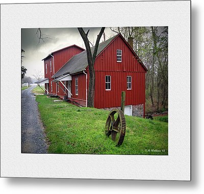 Williston Mill Metal Print by Brian Wallace
