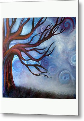 Metal Print featuring the painting Wind by Monica Furlow