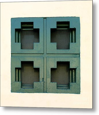 Windows Metal Print by Henrik Lehnerer