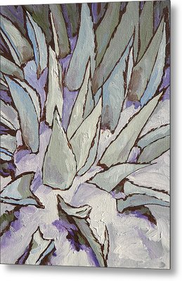 Winter Snow Metal Print by Sandy Tracey