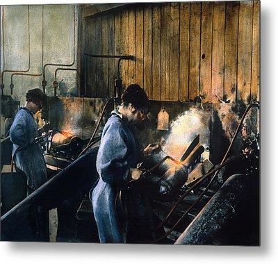 World War I: Women Workers Metal Print by Granger