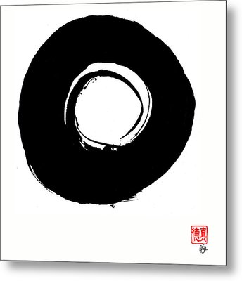 Zen Circle Six Metal Print