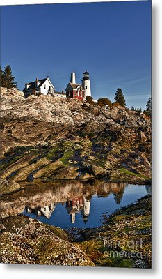 Pemaquid Point Lighthouse Metal Print by John Greim